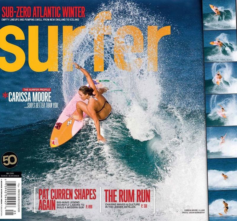 carissa couv surfer